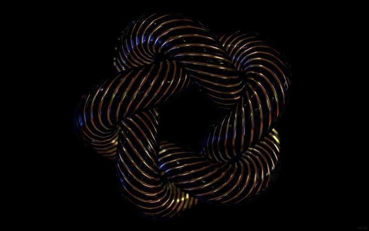 An example of a 'Cinquefoil Knot' by inkydigit