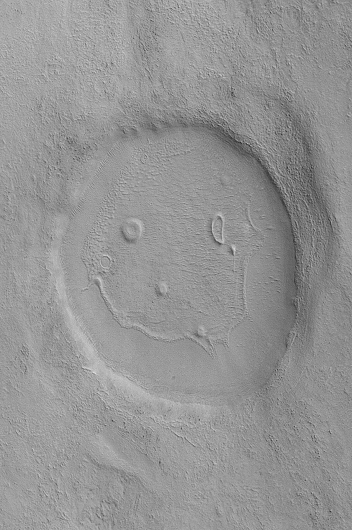 Smiley on Mars